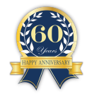60 Years - Happy Anniversary